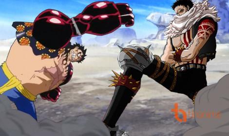Luffy sắp tay đôi với Katakuri - Tư lệnh Ngọt có mức truy nã hơn 1 tỷ!