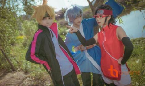Bộ ba Boruto, Sarada, Mitsuki - Thế hệ Nhẫn Giả mới!