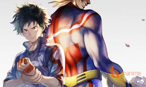 Manga My Hero Academia lại trì hoãn một tuần!