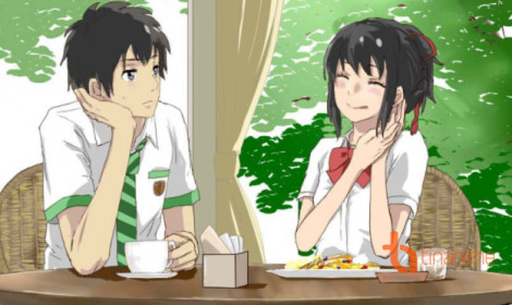 [Doujinshi] Taki giành ăn của Mitsuha và cái kết bất ngờ!