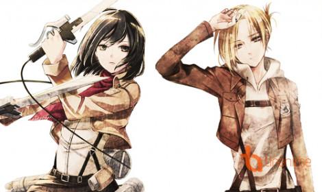 Attack on Titan: Lost Girl - Chuyện về Mikasa và Annie