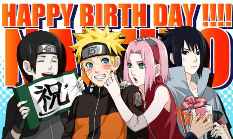 [Doujinshi] Món quà bá đạo tặng Naruto!