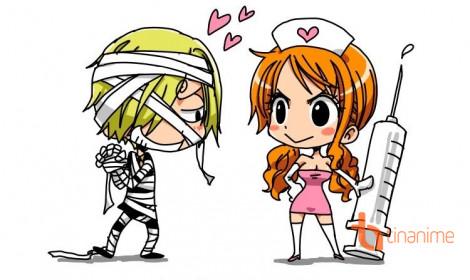 Biến thể của Sanji và Nami, nhìn là muốn nựng!