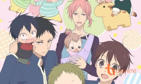 """Gakuen Babysitters - """"Soái ca"""" trông trẻ"""