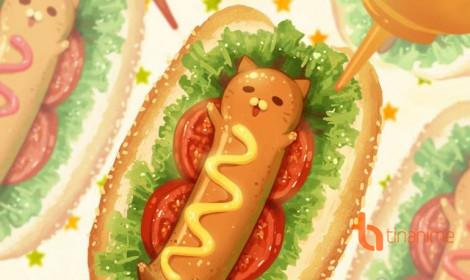 """Thế giới đồ ăn và mèo - Sự kết hợp đáng yêu """"khó đỡ"""""""