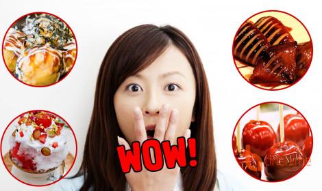 Top 10 món ăn nhất định phải nếm thử khi đến lễ hội Nhật Bản
