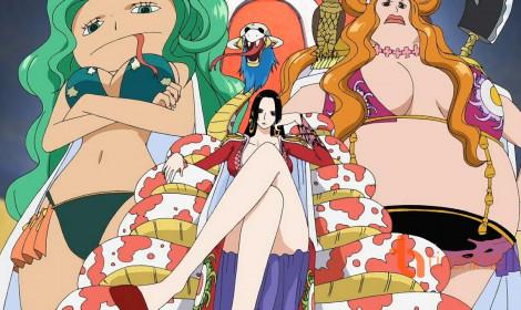 Top 5 nữ thuyền trưởng mạnh nhất từng xuất hiện trong One Piece