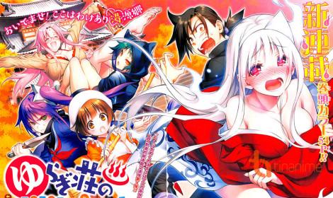 """Yuragi-sou no Yuuna-san - Dàn harem """"nóng bỏng"""" tại nhà nghỉ ma ám"""