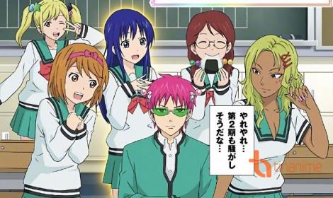 Saiki Kusuo no Psi Nan season 2 - Tóc hồng trở lại, lợi hại hơn xưa