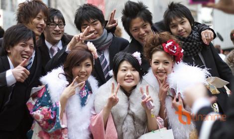Ở Nhật Bản, 20 tuổi mới được gọi là người trưởng thành nhé!