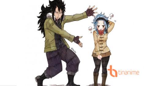 Levi và Gajeel - Cặp đôi đũa lệch đáng yêu của Fairy Tail!