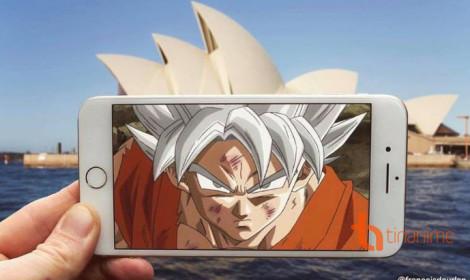 Đem Dragon Ball vào đời thực bằng một chiếc Iphone