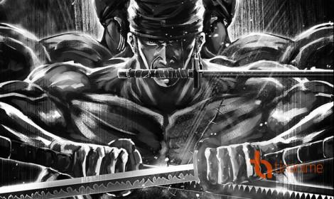 Đẳng cấp tranh One Piece trắng đen của họa sĩ Sujiayi!