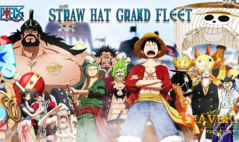 Điểm danh Đại liên minh vĩ đại của Luffy và băng hải tặc Mũ Rơm!
