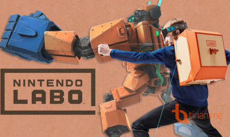 Đồ chơi điện tử từ giấy carton - Ý tưởng tuyệt vời của Nintendo