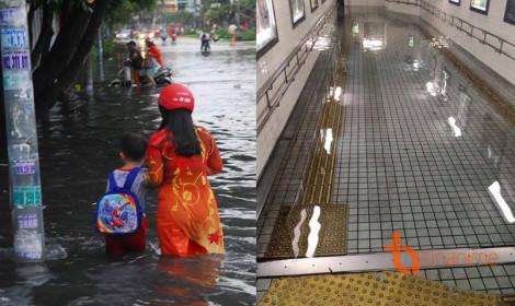 Đây là nước lụt tại Nhật Bản!
