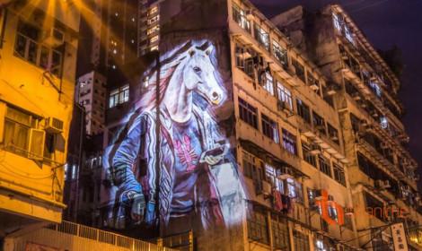 12 con giáp náo loạn Hồng Kông