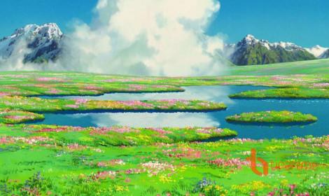 Cảnh sắc Ghibli - Đẹp đến từng bông hoa ngọn cỏ!