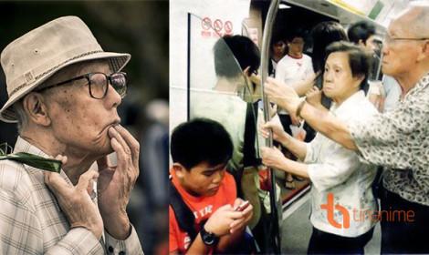 Nhường ghế cho người già ở Nhật là... bất lịch sự?