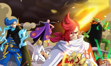 [Spoiler] One Piece chương 898 - Quân đoàn Ma Quỷ xung trận!