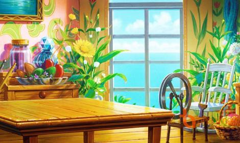 Những căn phòng cổ tích trong Ghibli