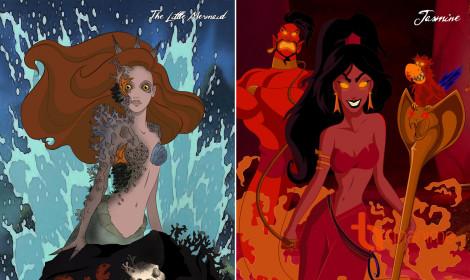 Khi các nàng công chúa Disney... đóng vai ác
