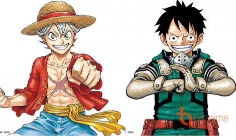 Các nhân vật của tờ Shounen Jump cosplay lẫn nhau!
