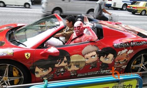 Những siêu xe mà fan anime nào cũng khao khát