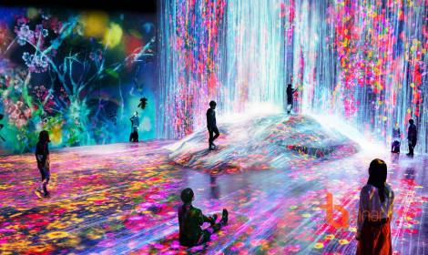 Ngộp thở trước vẻ đẹp kỳ ảo của bảo tàng ánh sáng Nhật Bản!