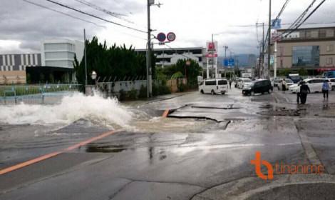 Cơn động đất kinh hoàng tại Nhật Bản sáng nay!!!