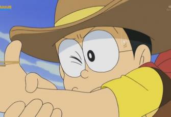 Doraemon Tập 496 - Có Ai Muốn Nuôi Mèo Nobita không ? & Cao Bồi Săn Phần Thưởng