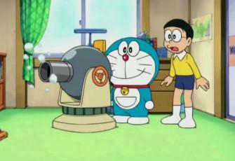 Doraemon Tập 502 - Đại phát minh của nhà sáng chế & Câu chuyện về Đại bác truyền tin