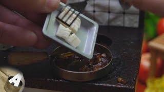 MiniFood 食べれるミニチュア 麻婆豆腐 miniature Mapo tofu