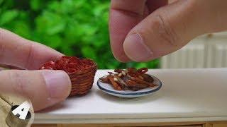 MiniFood 食べれるミニチュア きんぴらごぼう miniature Kinpira burdock