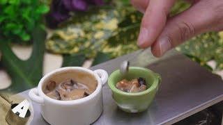 MiniFood 食べれるミニチュア 豚汁 miniature pork soup