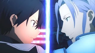 ▪「 AMV 」▪ Kirito Vs Eldrie Woolsburg - Sword Art Online Alicization Episode 12