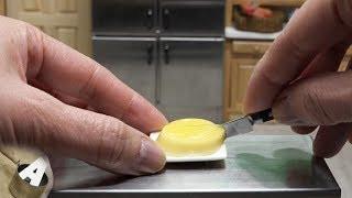 MiniFood 食べれるミニチュア オレンジババロア miniature orange bavarian cream