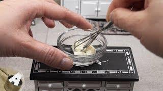 MiniFood 食べれるミニチュア 豆腐ケーキ miniature tohu cake