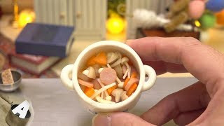 MiniFood 食べれるミニチュア コンソメスープ miniature consomme soup