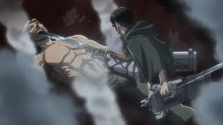 Levi Vs Beast Titan [AMV] Shingeki no Kyojin Season 3 Part 2 - HD
