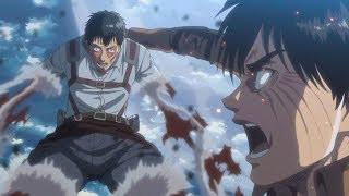Eren & Armin VS Bertholdt The Colossal Titan - Shingeki no Kyojin Season 3 Part 2 - AMV