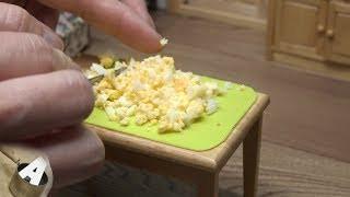 MiniFood 食べれるミニチュア たまごサンド miniature Egg sandwich