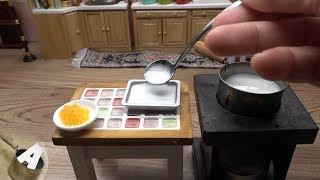 MiniFood 食べれるミニチュア 牛乳寒天 miniature Milk Agar