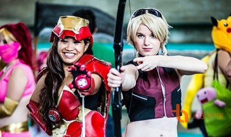 Series cosplay cực chất tại Otakon 2012