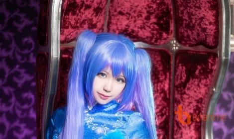 Bộ cosplay nàng Hatsune Miku xinh đẹp