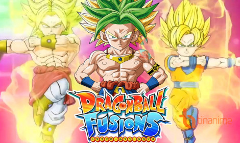 Trailer mới cho game Dragon Ball Fusions
