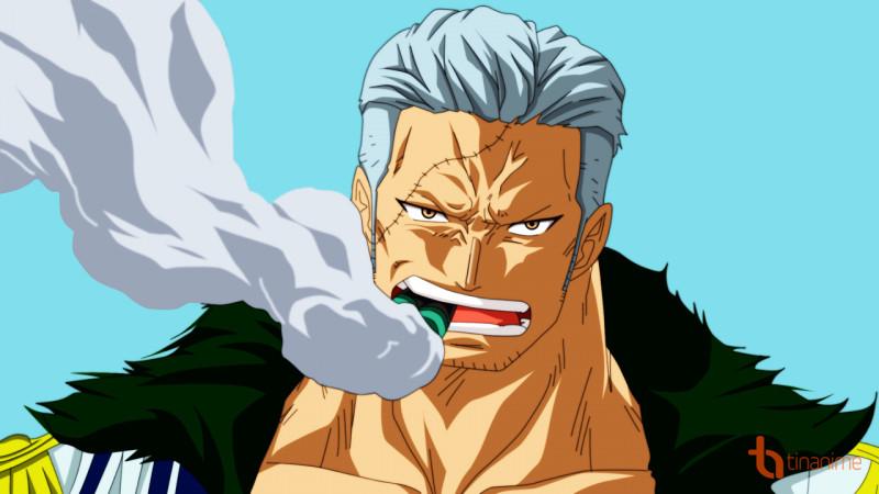 Smoker - Kẻ truy đuổi Luffy dai dẳng