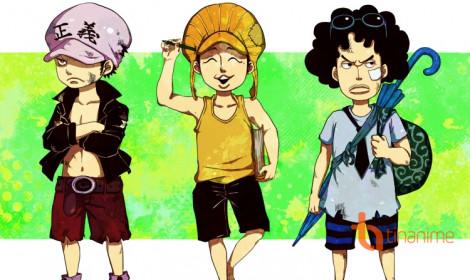 """Các Đô Đốc trong One Piece thời """"trẻ trâu"""""""