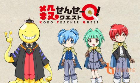 Ngoại truyện của Lớp học ám sát sắp có anime!!!