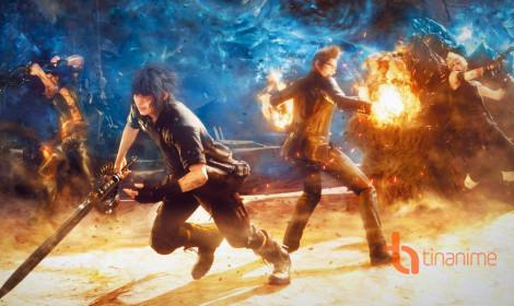 Nghẹt ngở với trailer của Final Fantasy XV